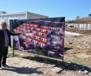 Eynal Kaplıcaları'na özel sektörden termal tesis yatırımı