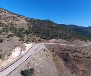 Beyşehir'in Damla yaylası yolu asfaltlandı