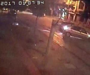 Bursa'daki ölümlü kaza kameraya böyle yansıdı