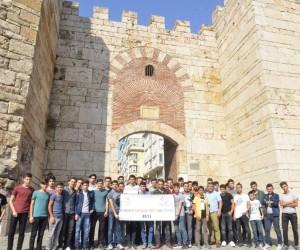 Düzceli gençler Bursa'yı gezdi