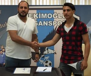Hekimoğlu Doğanspor, Osman Bozdağ ile sözleşme imzaladı