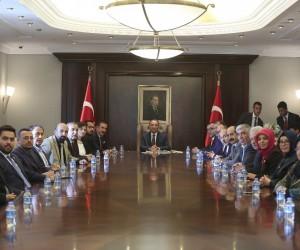 AHİD'den Başbakan Yardımcısı Bozdağ'a ziyaret