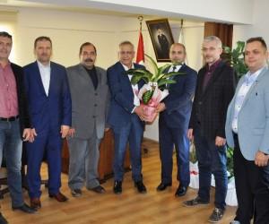 İTSO'dan Emniyet Müdürü Araali'ye ziyaret