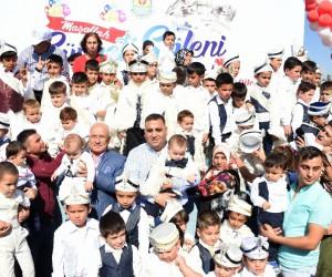 Tarsus'un Kirvesi Şevket Can, 606 çocuğa unutulmaz bir gün yaşattı