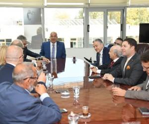 Başkan Kocamaz fahri konsoloslarla bir araya geldi