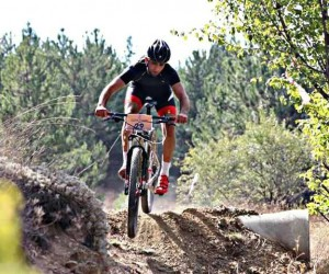 Malatyalı Samet Demir, Dağ Bisikleti Maratonu'nda üçüncü oldu