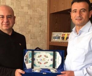 Binbaşı Turgut Çıtak'tan Belediye Başkanı Saraoğlu'na veda