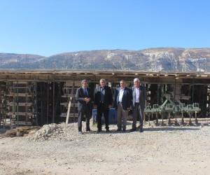 Tut ilçesi Yeşilyurt köyüne taziye evi yapılıyor