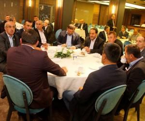 Başkan Vekili Özak, 243 köy muhtarı ile bir araya geldi