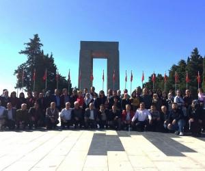 Muhtarlar Çanakkale ve Bursa'yı gezdi