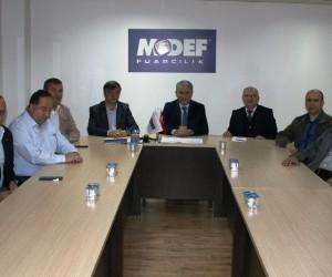MODEF EXPO 84 ülkeden yabancı ziyaretçiyi ağırladı