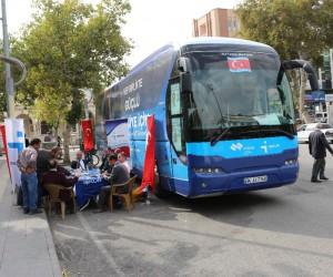 İşkur'un Milli Seferberlik otobüsü Adıyaman'da