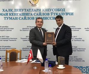KBÜ Rektörü Prof. Dr. Refik Polat, yeni iş birlikleri için Özbekistan'da