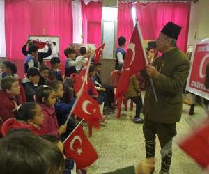 Dünyanın en yaşlı gazisinin oğlu Turgut Kaçmaz, Çanakkale'yi anlattı