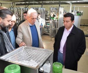 Başkan Bakıcı Söğüt Atık Su Arıtma Tesisi'nde incelemelerde bulundu