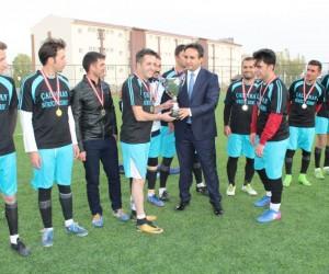 Şehit Binbaşı Kıvanç Cesur Futbol Turnuvası sona erdi