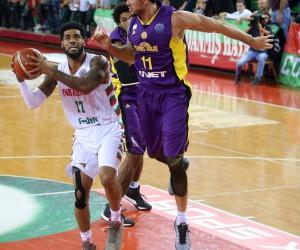 FIBA Şampiyonlar Ligi: Pınar Karşıyaka: 98 - Hapoel Holon: 91
