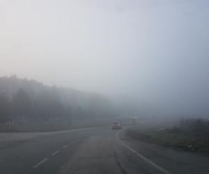 İnegöl güne sis ile uyandı
