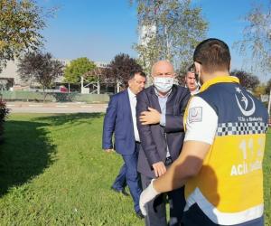 İnegöl Belediyesi Başkan yardımcısı trafik kazasında yaralandı