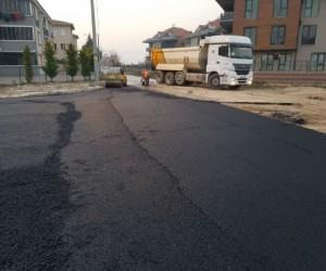 Turgutalp Mahallesinde Asfalt Çalışması Yapıldı