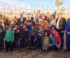 Esra Tüfenkci Suriyeli sığınmacıları unutmadı
