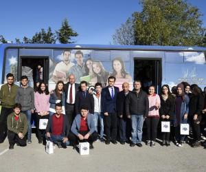 Evliya Çelebi Gezici Halk Kütüphanesi öğrencilerin ayağına gidiyor