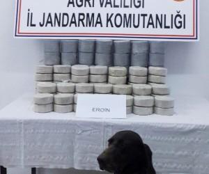 Doğubayazıt'ta 72 kilogram eroin ele geçirildi