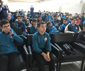 Ortaokul öğrencilerine balık tüketiminin faydaları anlatıldı