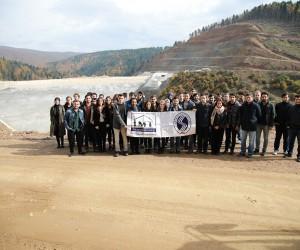 Geleceğin mühendisleri Akçay Barajı'nı gezdi