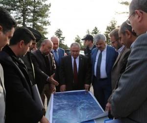 Başkan Mehmed Ali Saraoğlu: Murat Dağı'ndaki pistlerimiz Türkiye ortalamasının üzerinde