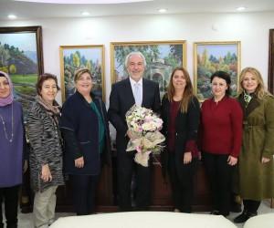 Aylin Oğuz Girgin'den Başkan Saraçoğlu'na UNESCO teşekkürü