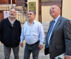 Başkan Eşkinat, Ressam Balaban Müzesinde incelemelerde bulundu