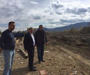 Seydişehir'de Akçay Deresi ıslah çalışması sürüyor