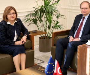 """Büyükelçi Chiristian Berger: """"2018 Avrupa Kültürel Miras Yılı'nda Gaziantep'le birlikte çalışabiliriz''"""