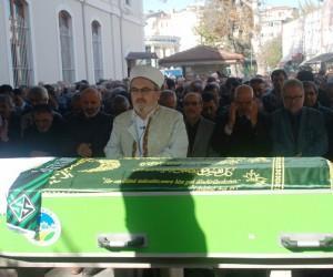 Gazeteci Şanlı, son yolculuğuna uğurlandı