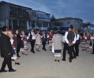 Bulgar gruptan Çamlıca'da sanat etkinlikleri