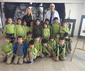 Çamlıca Okullarında Atatürk sergisi