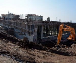 Helvacı Modern Kapalı Pazar Yeri inşaatı devam ediyor