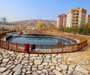 İlhan Cavcav Parkı açılış için gün sayıyor