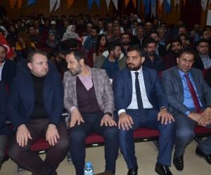 AK Parti Gençlik Kolları Genel Başkanı Ecertaş Yüksekova'da