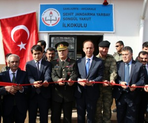 Şehit Yarbay Songül Yakut'un ismi Suriye sınırdaki okula verildi