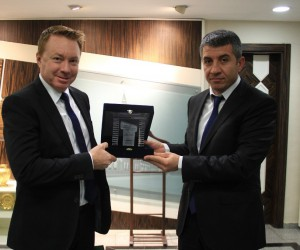 Avustralya'nın Ankara Büyükelçisi Marc Innes Brown Şanlıurfa'da