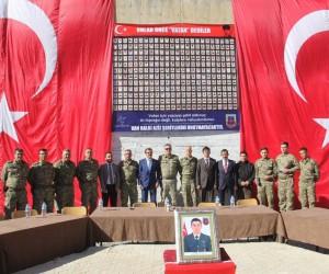 Başkale'de çatışmada şehit olan Jandarma Uzman Onbaşı Kemal Zeren için mevlit okutuldu