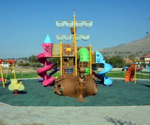 Aliağa Belediyesinden Helvacı'ya iki modern park