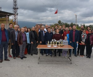 EMD İzmir'den,  Torbalı Zeytin ve Zeytinyağı Hasat Şenliği'ne destek