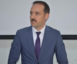 İl Özel İdaresi Genel Sekreter Yardımcısı Ahmet Çelebi yeni görevine başladı