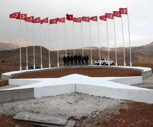 Suşehri'nde 'Şehitler Tepesi' oluşturuldu