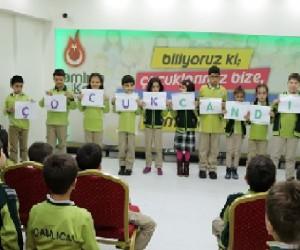 Çamlıca Okullarında Çocuk Hakları Haftası coşkusu