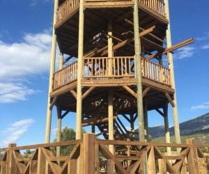 Dilek Yarımadası Milli Parkı'nda kuş gözlem kulesi yapılıyor