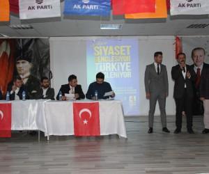 AK Parti Muradiye Gençlik Kolları Başkanlığına Kayakeser seçildi